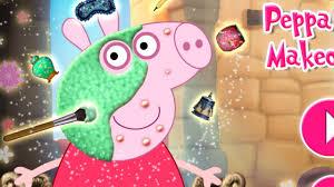 peppa pig games peppa pig makeover makeover games kids