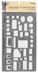 amazon com pickett house furniture indicator template 111pi