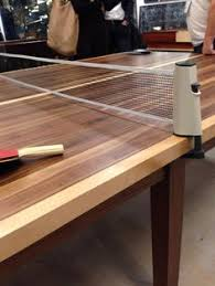A Ping Pong Table For Design Lovers Ping Pong Table Game Rooms - Designer ping pong table