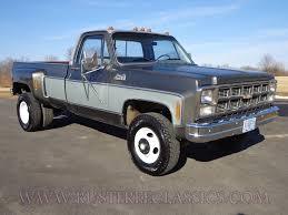 Classic Chevy Dually Trucks - 80 k35 regular cab dually sierra classic 1 ton 4x4 1980 gmc