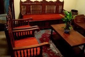 Sofarattanfurnitureinsmalllivingroomdecoratingideas - Wood living room design