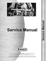 new international harvester ih tractor service manual cub 184 185