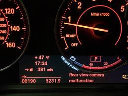 nissan altima 2015 malfunction indicator light top rear view cameras malfunction warning