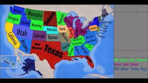 Us Navy Future Map Of United States by Alternate Future Of Usa Ep 4 The Great American War Youtube