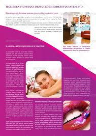 beauty salon brochure template by carlos fernando graphicriver