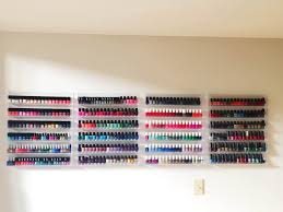 the beauty of life manimonday my nail polish stash and storage