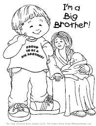 boy coloring free baby coloring printable