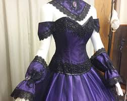 Victorian Dress Halloween Costume Vampire Dress Etsy