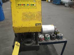 parker parkrimp model 80c 080 hydraulic hose crimper with 6
