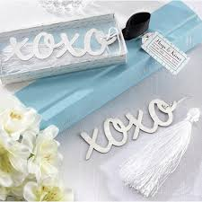 xoxo bookmark wedding bridal shower wedding favors ewfa003 as