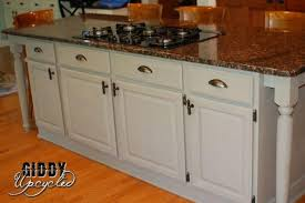 painting a kitchen island give your kitchen island a facelift and some legs hometalk