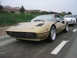 gold color cars 1980 ferrari 308 gtsi rare gold color low mileage 5 speed