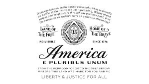 I Pledge Allegiance To The Flag Lyrics Budweiser America Graphis