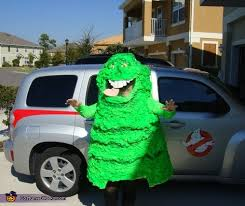 Ghostbuster Halloween Costumes Ghostbusters Slimer Group Halloween Costume Idea
