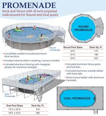 swimming pool discountersround promenade deck pools