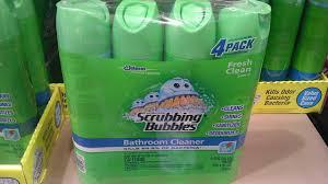 amazon com scrubbing bubbles 39572 dow bathroom cleaner 25