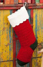knitting pattern for christmas stocking free crochet christmas stockings 10 free patterns to hang this year