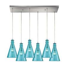 teal pendant lights hanging lights the home depot