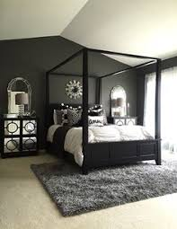 Black Mirrored Bedroom Furniture by Glamorous Bedroom Decor Via Stallonemedia Master Bedroom