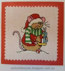 the cross stitching librarian polar bears finished u0026 christmas