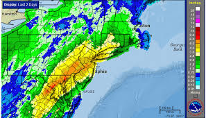 weather map ny flooding rains give way to storms warmer air york metro