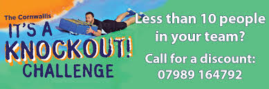 Challenge Knockout Km Charity Team Cornwallis It S A Knockout Challenge Km Charity Team
