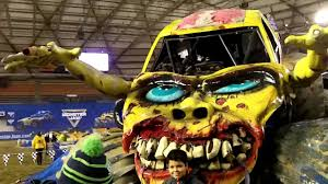 monster truck show 2016 monster truck zombie body for amsoil west series 2016 youtube