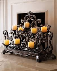 Large Candle Holders For Fireplace by 30 Adorable Fireplace Candle Displays For Any Interior House