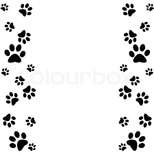 paw print powerpoint template casseh