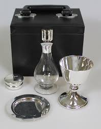 communion kits budget communion set silver plated 4 church crafts uk