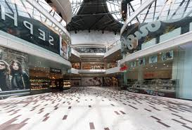 free picture soping center advertising glass floor interior