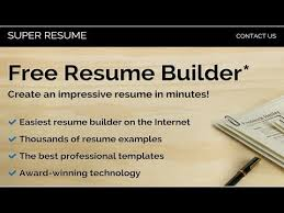 The Best Free Resume Builder by Best Free Online Resume Builders Youtube