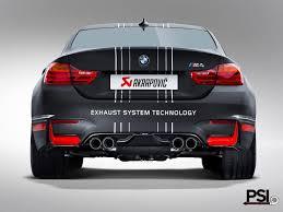 Bmw I8 Exhaust - psi presents akrapovic titanium exhaust for bmw m3 m4