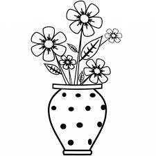 easy sketches flower pot easy pencil arts flower pot flower pot