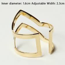 v shaped ring aliexpress buy fashion letter v shaped ring women