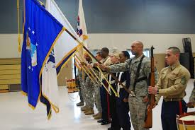 Color Guard Presentation Of The Flags Recruiters To Carry Nation U0027s Colors At Super Bowl Article The