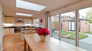 kitchen diner extension ideas double side and single rear extension with refurbishment work