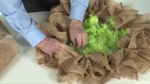 deco paper mesh how to make a burlap paper mesh wreath