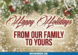 happy holidays from mp financial