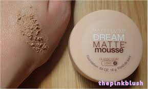maybelline dream matte mousse classic ivory light 2 review maybelline dream matte mousse the pink blush