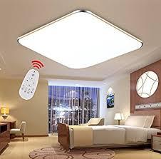 deckenleuchte schlafzimmer modern sailun 36w dimmbar ultraslim led deckenleuchte modern deckenle