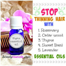 essential oils for hair growth and thickness 5 most effective essential oils for thinning hair beautymunsta