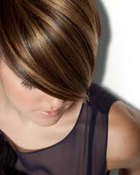 high and low highlights on short hair visible changes hair salon sleek and short visible changes