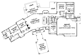 Craftsman Style House Floor Plans by Craftsman House Plans Woodcliffe 30 715 Associated Designs