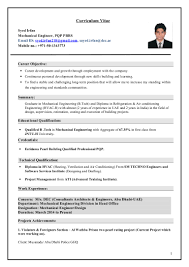 career objective for mechanical engineer resume irfan mechanical engineer cv