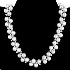 pearl crystal wedding necklace images Sandi pointe virtual library of collections jpg