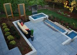 modern water feature cambridge water feature modern patio toronto by earthscape
