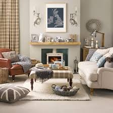 modern country living room ideas living room with chaise longue beige walls backdrops and