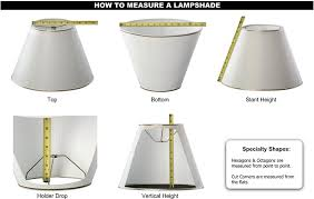 l shades by size best how to measure l shade on stunning home interior design with