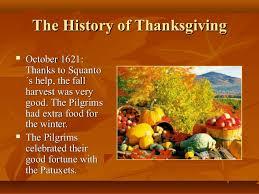 When Was Thanksgiving Celebrated Thanksgiving Presentation